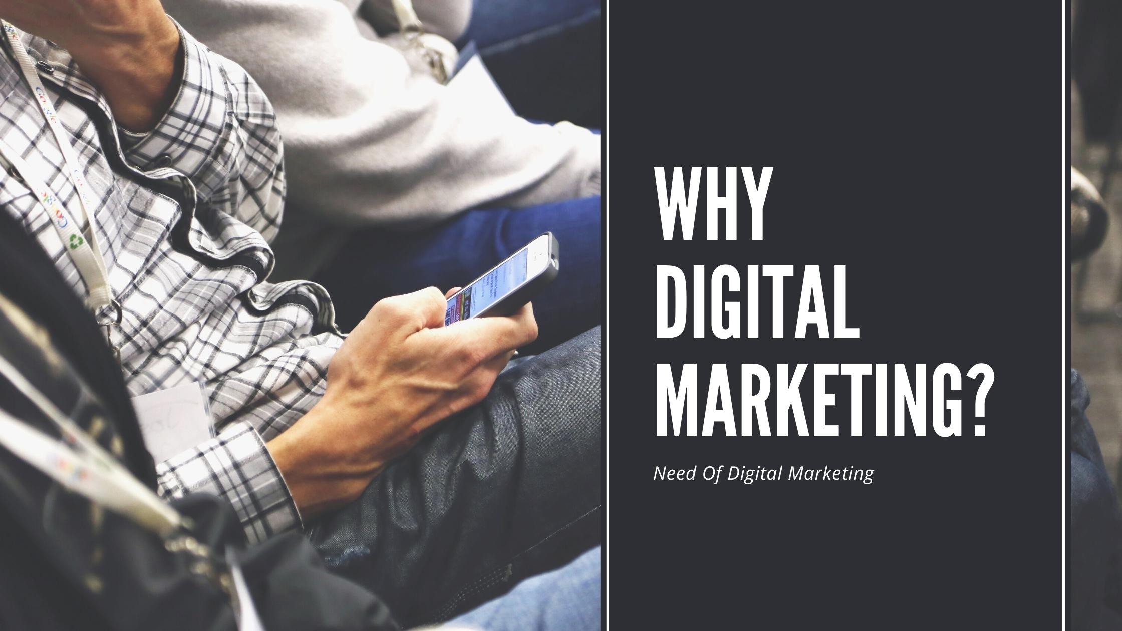 Importance of digital marketing, digital marketing in 2020