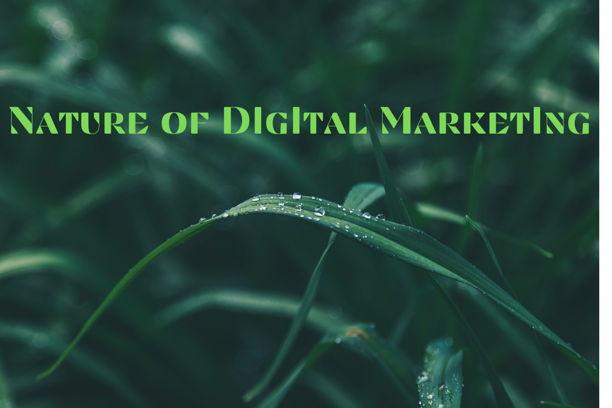 Nature of Digital Marketing